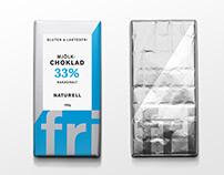 Fri, Gluten- & lactose free chocolate