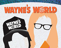 Wayne's World - 25 Year Party Poster