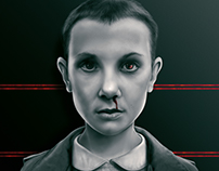 """Eleven"" digital painting by Giulio Rossi"