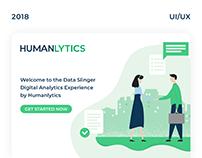 HUMANLYTICS - UI/UX for marketing web app