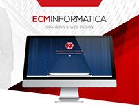 ECM Informatica - Branding & Web Design