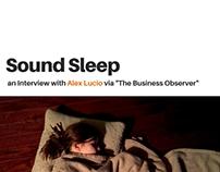Sound Sleep: An Interview with Alex Lucio