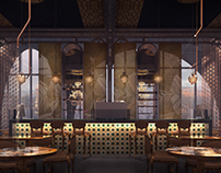 Budapest cafe - concept design