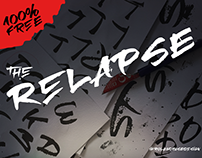 RElapse - a free Folded Pen font