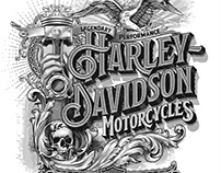 Harley - Davidson poster