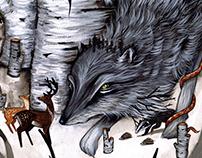 Wolf + Tiny Friends
