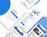 UI/UX Design for News App - Now