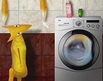 Frou-Frou Washing Tails
