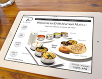 "Interactive Menu Design for Restaurant - ""ID"""