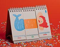 Horse Sausage calendar 2014