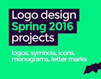 LOGO DESIGN projects, Spring 2016