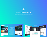 3D Website Presentation – After Effects Template