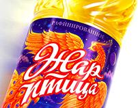 Sunflower, olive and rape oil «ZHAR-PTITSA»