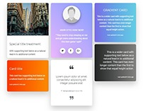 Bootstrap 4 Creative Design Kit