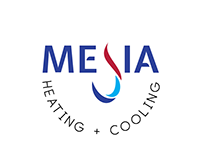 Mejia Heating and Cooling Logo