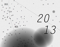 Galaxy calendar