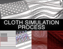 Cloth Simulation Process
