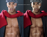 Commercial photo retouching