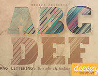 FREE Creative PNG Lettering 2