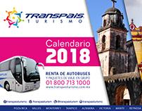 Transpaís - Calendario 2018