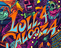 Lollapalooza Chile 2017 / Gigposter