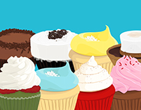 Cupcake Illustrations