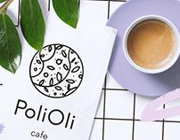 / PoliOli Cafe branding /