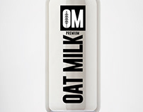 OM -oat milk Australia -Brand&Identity -Product Label