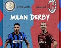 Derby Milan Artwork