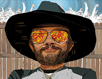Hank Williams Jr. for Country Weekly