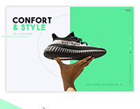 Sneakers e-commerce
