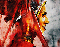 Indian Watercolour art 2016