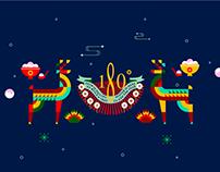 Winter solstice X Merry Christmas