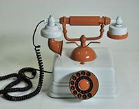Modelo volumétrico | Telefone
