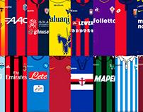 Guía de camisetas de la Serie A