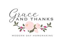 Grace and Thanks - Logo Design