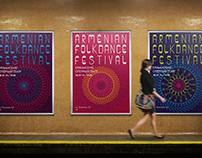 ARMENIAN FOLK DANCE FESTIVAL/Visual Identity