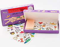 Temporary Tattoo Party Pack