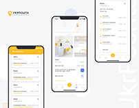 Parcel Tracking App Design