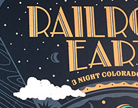 Railroad Earth - Screen Printed Gig Poster
