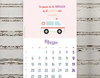 Nurse Calendar (ES)