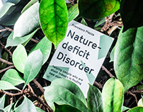 Nature-deficit Disorder –Research Documentation