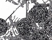 TeckArt / Megacity Foundation / Drawing / A5