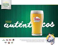 Auténticos - Central Cervecera