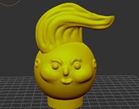 3D sculpting (character)