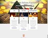 Campaña Emailing corporativo: Christmas streaming music