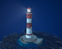 El Gordo Lighthouse - GTA V Fan Art