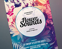 Flower Sounds Flyer