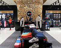 Store design for The Spot