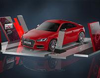 Audi Mall Activation Platform -Design Concept 2016